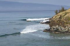Κόλπος Maui Honoloua στοκ εικόνες