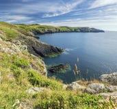 Κόλπος Onnen Carreg κατά μήκος της πορείας ακτών Pembrokeshire στοκ φωτογραφία