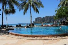 Κόλπος Rayley παραλιών της Ταϊλάνδης Krabi στοκ φωτογραφία με δικαίωμα ελεύθερης χρήσης