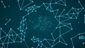 Κόμβοι δικτύων, μια αφηρημένη αντιπροσώπευση των γενικών κόμβων των στοιχείων κατά μήκος των διάφορων πορειών σύνδεσης μέσα σε έν φιλμ μικρού μήκους