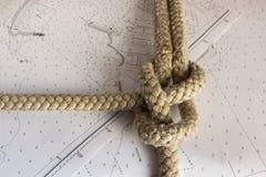 Κόμβοι ναυτικοί Στοκ Φωτογραφία