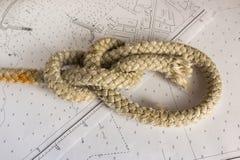 Κόμβοι ναυτικοί Στοκ Φωτογραφίες