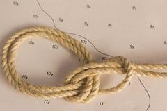 Κόμβοι ναυτικοί Στοκ εικόνα με δικαίωμα ελεύθερης χρήσης