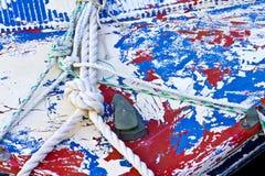 Κόμβος και αφαιρούμενο χρώμα Στοκ φωτογραφία με δικαίωμα ελεύθερης χρήσης
