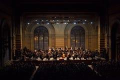 Συμφωνική ορχήστρα στοκ εικόνες