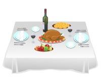 Κόμμα γευμάτων Απεικόνιση αποθεμάτων