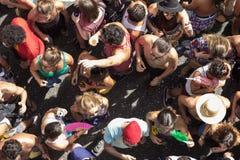 Κόμμα καρναβαλιού στη Βραζιλία Στοκ Φωτογραφία