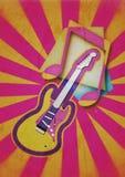 Κόμμα μουσικής κιθάρων Στοκ Εικόνες