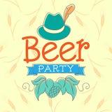 Κόμμα μπύρας Στοκ Φωτογραφία