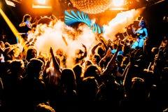 Κόμμα νυχτερινών κέντρων διασκέδασης Στοκ Εικόνες