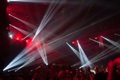 Κόμμα νύχτας διασκέδασης Στοκ Εικόνες
