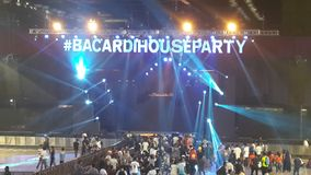 Κόμμα σπιτιών του Bacardi στοκ φωτογραφία με δικαίωμα ελεύθερης χρήσης