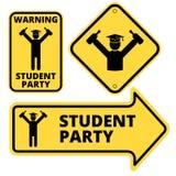 Κόμμα σπουδαστών Στοκ Εικόνες