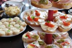 Κόμμα τροφίμων Στοκ φωτογραφία με δικαίωμα ελεύθερης χρήσης