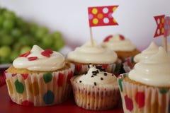 Κόμμα Cupcakes Στοκ Εικόνα