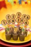 Κόμμα Junina Festa Στοκ Εικόνα