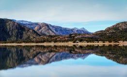 Κόνδορας της Αργεντινής Mirador Laguna Στοκ Εικόνα
