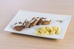 Κόντρα φιλέτο βόειου κρέατος Στοκ Εικόνες