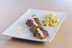 Κόντρα φιλέτο βόειου κρέατος Στοκ εικόνα με δικαίωμα ελεύθερης χρήσης
