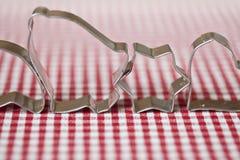 κόπτες μπισκότων Στοκ εικόνες με δικαίωμα ελεύθερης χρήσης