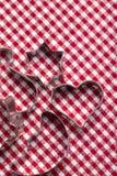 κόπτες μπισκότων Στοκ φωτογραφία με δικαίωμα ελεύθερης χρήσης