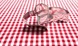 κόπτες μπισκότων Στοκ εικόνα με δικαίωμα ελεύθερης χρήσης