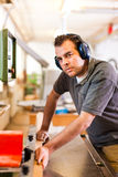κόπτης ξυλουργών ηλεκτρ&io Στοκ Φωτογραφίες