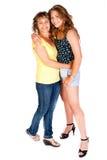 κόρη κάθε μητέρα αγκαλιάσμ&alp στοκ φωτογραφία με δικαίωμα ελεύθερης χρήσης