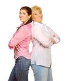Κόρη και η μητέρα της Στοκ φωτογραφίες με δικαίωμα ελεύθερης χρήσης