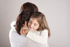 Κόρη και μητέρα στοκ φωτογραφίες