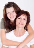 Κόρη μητέρων Στοκ φωτογραφίες με δικαίωμα ελεύθερης χρήσης