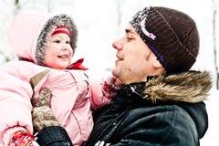 κόρη μπαμπάδων Στοκ φωτογραφία με δικαίωμα ελεύθερης χρήσης