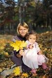 κόρη mom Στοκ Φωτογραφία
