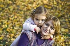 κόρη mom Στοκ εικόνες με δικαίωμα ελεύθερης χρήσης
