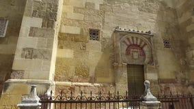 Κόρδοβα, Ανδαλουσία, Ισπανία, στις 20 Απριλίου 2016: Καθεδρικός ναός της αμόλυντης σύλληψης της Mary απόθεμα βίντεο