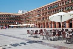 Κόρδοβα - η Plaza de Λα Corredera πλατεία Στοκ Εικόνες