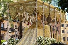 Κόρδοβα - ιερή εβδομάδα στοκ φωτογραφία