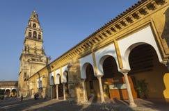 Κόρδοβα, μουσουλμανικό τέμενος, καθεδρικός ναός Στοκ εικόνες με δικαίωμα ελεύθερης χρήσης