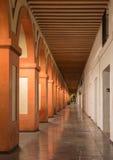 Κόρδοβα - τα porticoes Plaza de Λα Corredera της πλατείας στο σούρουπο Στοκ φωτογραφία με δικαίωμα ελεύθερης χρήσης
