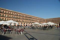 Κόρδοβα, Plaza de Λα Corredera Στοκ φωτογραφία με δικαίωμα ελεύθερης χρήσης