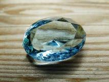 Κόσμημα διαμαντιών σαπφείρου κρυστάλλου πολύτιμων λίθων Στοκ εικόνες με δικαίωμα ελεύθερης χρήσης