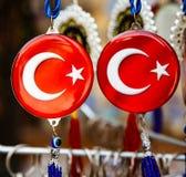 Κόσμημα με το σύμβολο της Τουρκίας Στοκ εικόνα με δικαίωμα ελεύθερης χρήσης