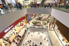 Κόσμημα της Σιγκαπούρης σε Changi Aiport στοκ φωτογραφία με δικαίωμα ελεύθερης χρήσης