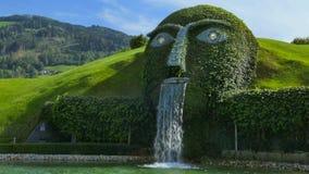 Κόσμοι κρυστάλλου Swarovski, Wattens, Αυστρία απόθεμα βίντεο
