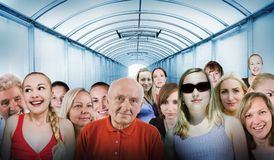 κόσμος ανθρώπων Στοκ εικόνα με δικαίωμα ελεύθερης χρήσης