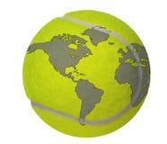 κόσμος αντισφαίρισης Στοκ φωτογραφία με δικαίωμα ελεύθερης χρήσης