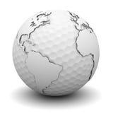 κόσμος γκολφ Στοκ εικόνες με δικαίωμα ελεύθερης χρήσης