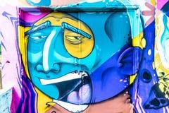 Κόσμος γκράφιτι Στοκ εικόνες με δικαίωμα ελεύθερης χρήσης