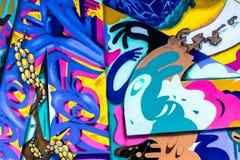 Κόσμος γκράφιτι Στοκ εικόνα με δικαίωμα ελεύθερης χρήσης