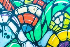 Κόσμος γκράφιτι Στοκ Εικόνα